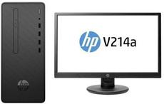 Настольный компьютер HP Desktop Pro G2 MT Bundle + 21' монитор V214a (6BD97EA)