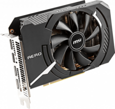 Видеокарта nVidia GeForce RTX2060 MSI PCI-E 6144Mb (RTX 2060 AERO ITX 6G OC)