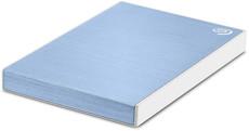 Внешний жесткий диск 1Tb Seagate Backup Plus Slim Light Blue (STHN1000402)