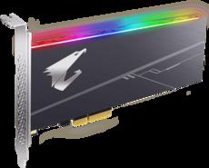 Твердотельный накопитель 1Tb SSD Gigabyte Aorus RGB (GP-ASACNE2100TTTDR)