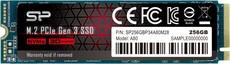 Твердотельный накопитель 256Gb SSD Silicon Power P34A80 (SP256GBP34A80M28)