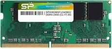 Оперативная память 8Gb DDR4 2400MHz Silicon Power SO-DIMM (SP008GBSFU240B02)