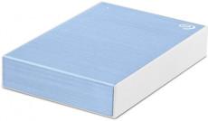 Внешний жесткий диск 5Tb Seagate Backup Plus Light Blue (STHP5000402)