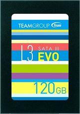 Твердотельный накопитель 120Gb SSD Team L3 EVO (T253LE120GTC101)
