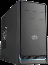 Корпус Cooler Master MasterBox E300L Black/Blue (MCB-E300L-KN5N-B01)