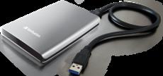 Внешний жесткий диск 2Tb Verbatim Store 'n' Go Silver (53189)