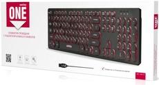 Клавиатура SmartBuy 328 USB Black