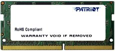 Оперативная память 16Gb DDR4 2400Mhz Patriot SO-DIMM (PSD416G24002S)