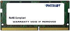 Оперативная память 4Gb DDR4 2400Mhz Patriot SO-DIMM (PSD44G240081S)