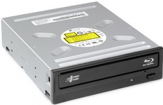 Привод LG CH12NS40 (DVDRW/BD-ROM) Black OEM