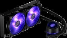 Система жидкостного охлаждения Cooler Master MasterLiquid Pro 240 RGB (MLY-D24M-A20PC-R1)