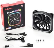 Вентилятор для корпуса Enermax SquA RGB UCSQARGB12P-SG