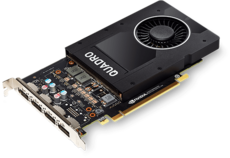 Профессиональная видеокарта nVidia Quadro P2000 PNY PCI-E 5120Mb (VCQP2000-BLK) OEM