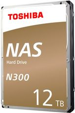 Жесткий диск 12Tb SATA-III Toshiba N300 NAS (HDWG21CEZSTA)