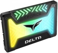 Твердотельный накопитель 500Gb SSD Team Delta RGB (T253TR500G3C313)