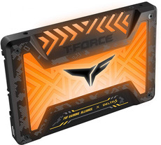 Твердотельный накопитель 500Gb SSD Team Delta S TUF Gaming RGB (T253ST500G3C312)