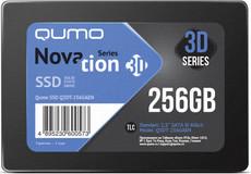 Твердотельный накопитель 256Gb SSD QUMO Novation 3D (Q3DT-256GAEN)