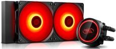 Водяная система охлаждения DeepCool Gammaxx L240T Red
