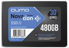 Твердотельный накопитель 480Gb SSD QUMO Novation 3D (Q3DT-480GPGN) OEM