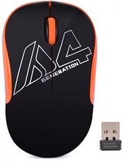 Мышь A4Tech G3-300N Black/Orange