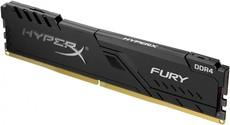 Оперативная память 8Gb DDR4 2400MHz Kingston HyperX Fury (HX424C15FB3/8)