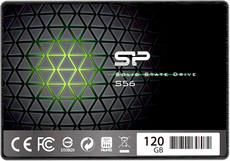 Твердотельный накопитель 120Gb SSD Silicon Power Slim S56 (SP120GBSS3S56B25)