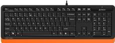 Клавиатура A4Tech Fstyler FK10 Black/Orange
