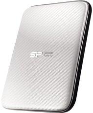 Внешний жесткий диск 2Tb Silicon Power Diamond D20 White (SP020TBPHDD20S3W)