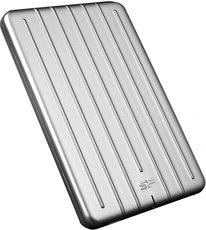 Внешний жесткий диск 1Tb Silicon Power Armor A75 Silver (SP010TBPHDA75S3S)