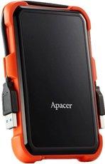 Внешний жесткий диск 2Tb Apacer AC630 Black/Orange (AP2TBAC630T-1)