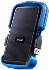 Внешний жесткий диск 1Tb Apacer AC631 Black/Blue (AP1TBAC631U-1)