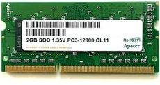 Оперативная память 2Gb DDR-III 1600MHz Apacer SO-DIMM (78.A2GCR.AU00C)