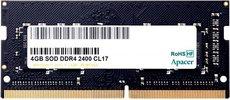 Оперативная память 4Gb DDR4 2400MHz Apacer SO-DIMM (ES.04G2T.KFH)