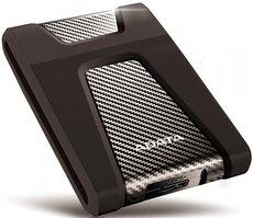 Внешний жесткий диск 2Tb ADATA HD650 Black (AHD650-2TU31-CBK)