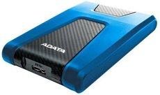 Внешний жесткий диск 1Tb ADATA HD650 Blue (AHD650-1TU31-CBL)