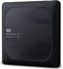 Внешний жесткий диск 4Tb Western Digital My Passport Wireless Pro (WDBSMT0040BBK)