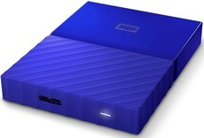 Внешний жесткий диск 1Tb Western Digital My Passport Blue (WDBBEX0010BBL)