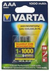 Аккумулятор Varta (AAA, 1000mAh, 2 шт)