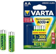 Аккумулятор Varta (AA, 2600mAh, 2 шт)