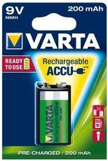 Аккумулятор Varta (9V, 200mAh, 1 шт)