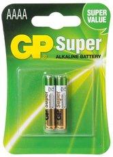 Батарейка GP 25A Super Alkaline (AAAA, 2 шт)