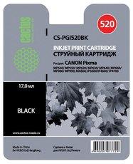 Картридж Cactus CS-PGI520BK