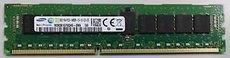 Оперативная память 8Gb DDR-III 1600MHz Samsung ECC Reg 1.35V