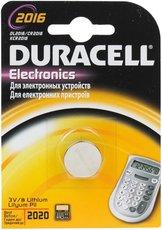 Батарейка Duracell (CR2016, Lithium, 1 шт)