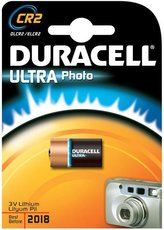Батарейка Duracell Ultra (CR2, Lithium, 1 шт)