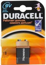 Батарейка Duracell Basic (9V, Alkaline, 1 шт)