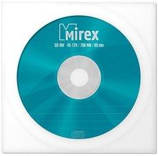 Диск CD-RW Mirex 700Mb 12x Paper Cover (1шт) (1050253)