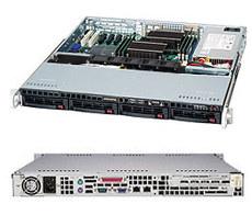Серверный корпус SuperMicro CSE-813MTQ-600CB