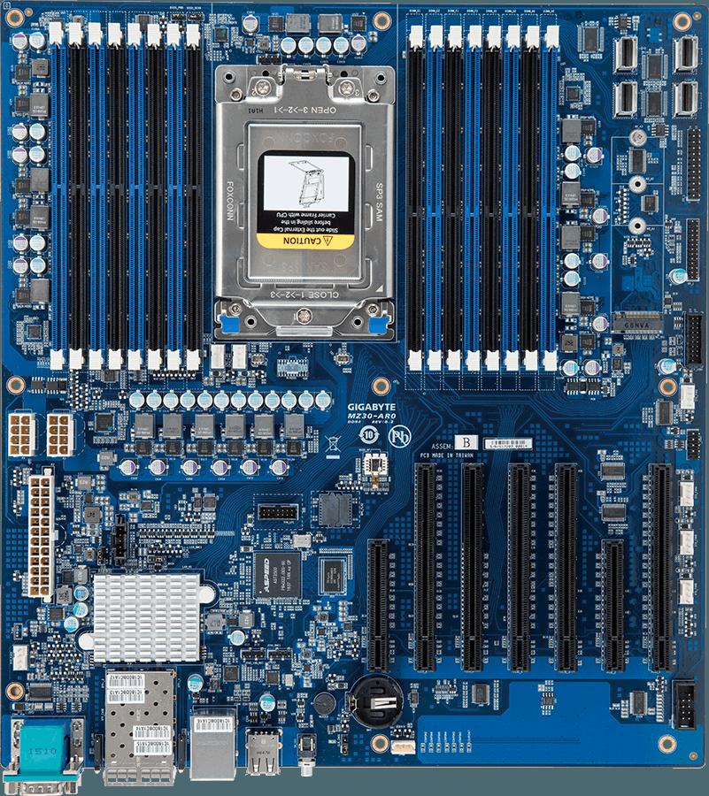Серверная плата Gigabyte MZ31-AR0