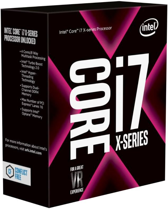 Процессор Intel Core i7 - 7740X BOX (без кулера)